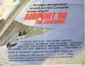 AIRPORT '80... THE CONCORDE (Bottom Right) Cinema Quad Movie Poster
