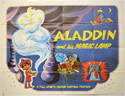 ALADDIN AND HIS MAGIC LAMP Cinema Quad Movie Poster