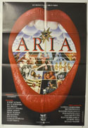 ARIA Cinema One Sheet Movie Poster