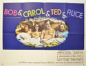 BOB AND CAROL AND TED AND ALICE Cinema Quad Movie Poster