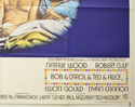 BOB AND CAROL AND TED AND ALICE (Bottom Right) Cinema Quad Movie Poster