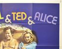 BOB AND CAROL AND TED AND ALICE (Top Right) Cinema Quad Movie Poster