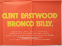 BRONCO BILLY (Bottom Right) Cinema Quad Movie Poster