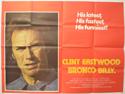 BRONCO BILLY Cinema Quad Movie Poster