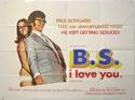 B.S. I LOVE YOU Cinema Quad Movie Poster