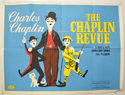 THE CHAPLIN REVUE Cinema Quad Movie Poster
