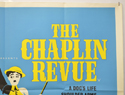 THE CHAPLIN REVUE (Top Right) Cinema Quad Movie Poster
