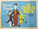 THE CHAPLIN REVUE Cinema Quad Movie Poster
