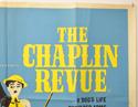 THE CHAPLIN REVUE (Top Right) Cinema Quad Movie Poster