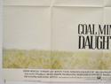 COAL MINER'S DAUGHTER (Bottom Left) Cinema Quad Movie Poster