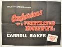 CONFESSIONS OF A FRUSTRATED HOUSEWIFE Cinema Quad Movie Poster