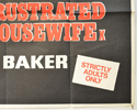 CONFESSIONS OF A FRUSTRATED HOUSEWIFE (Bottom Right) Cinema Quad Movie Poster