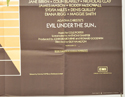 EVIL UNDER THE SUN (Bottom Right) Cinema Quad Movie Poster