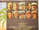 EVIL UNDER THE SUN (Top Right) Cinema Quad Movie Poster