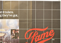 FAME (Top Right) Cinema Quad Movie Poster