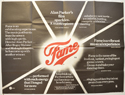 FAME Cinema Quad Movie Poster