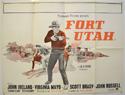 FORT UTAH Cinema Quad Movie Poster