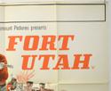 FORT UTAH (Top Right) Cinema Quad Movie Poster
