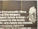 GOODBYE EMMANUELLE (Top Right) Cinema Quad Movie Poster