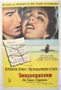 Indiscretion Of An American Wife <p><i> (Cinema Poster From Argentina)</i></p>