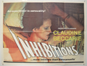 INHIBITIONS Cinema Quad Movie Poster