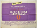 JESUS CHRIST SUPERSTAR Cinema Quad Movie Poster