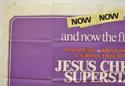 JESUS CHRIST SUPERSTAR (Top Left) Cinema Quad Movie Poster