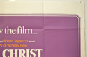 JESUS CHRIST SUPERSTAR (Top Right) Cinema Quad Movie Poster