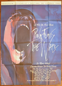 PINK FLOYD THE WALL Cinema Bus Stop Movie Poster
