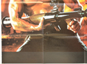 RAMBO : FIRST BLOD PART II (Bottom Left) Cinema Quad Movie Poster