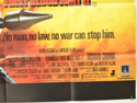 RAMBO : FIRST BLOD PART II (Bottom Right) Cinema Quad Movie Poster