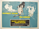 SECRET CEREMONY Cinema Quad Movie Poster