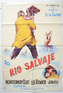 Wild River <p><i> (Cinema Poster From Argentina)</i></p>