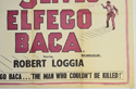 THE 9 LIVES OF ELFEGO BACA(Bottom Right) Cinema Quad Movie Poster