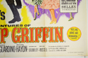 THE ADVENTURES OF BULLWHIP GRIFFIN (Bottom Right) Cinema Quad Movie Poster