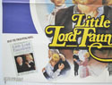 LITTLE LORD FAUNTLEROY (Bottom Left) Cinema Quad Movie Poster