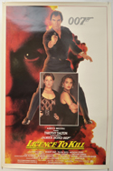 007 : LICENCE TO KILL Cinema One Sheet Movie Poster