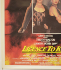 007 : LICENCE TO KILL (Bottom Left) Cinema One Sheet Movie Poster