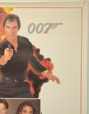 007 : LICENCE TO KILL (Top Right) Cinema One Sheet Movie Poster