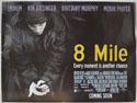 8 MILE Cinema Quad Movie Poster
