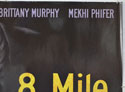 8 MILE (Top Right) Cinema Quad Movie Poster