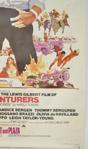 THE ADVENTURERS (Bottom Right) Cinema 4 Sheet Movie Poster