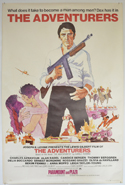 THE ADVENTURERS Cinema 4 Sheet Movie Poster