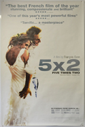 5 X 2 Cinema 4 Sheet Movie Poster