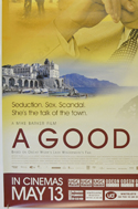A GOOD WOMAN (Bottom Left) Cinema 4 Sheet Movie Poster