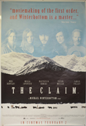 THE CLAIM Cinema 4 Sheet Movie Poster