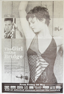 THE GIRL ON THE BRIDGE Cinema 4 Sheet Movie Poster