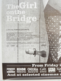 THE GIRL ON THE BRIDGE (Bottom Left) Cinema 4 Sheet Movie Poster