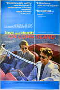 LOVE AND DEATH ON LONG ISLAND Cinema 4 Sheet Movie Poster