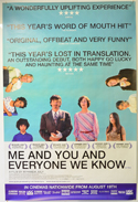 Me And You And Everyone We Know <p><i> (British 4 Sheet Poster) </i></p>